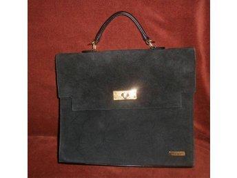 väska, svart väska, Bulaggi
