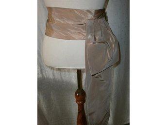 bälte i taft till aftonklänning, aftonkjol,vintage, 50-tal