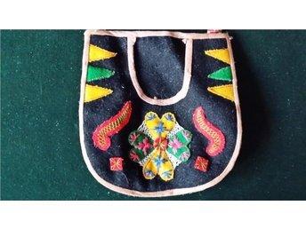 väska till folkdräkt DALARNA retro