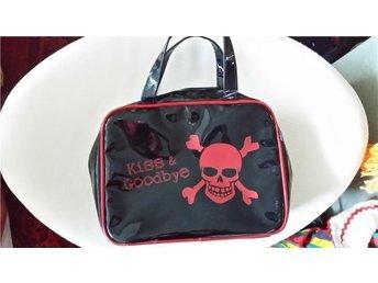 väska handväska LACK rock PUNK retro