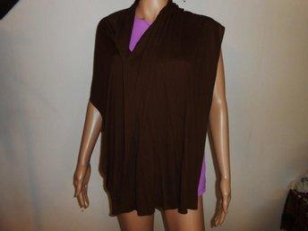 Retro brun härlig stor Vår sjal !