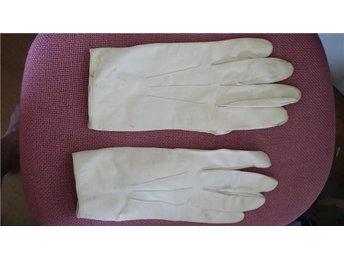 handskar frack/uniform handskar skinn vintage