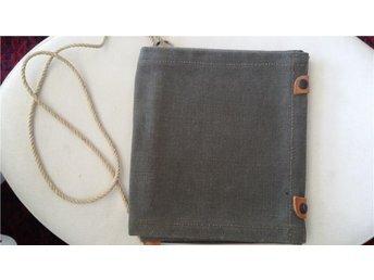 väska kartfodral orientering 40/50-tal retro
