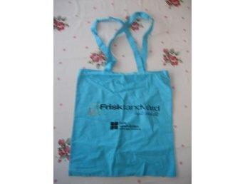 Väska i tyg - Frisk tandvård helt enkelt