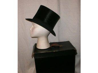 hatt, cylinderhatt,hög hatt,vintage