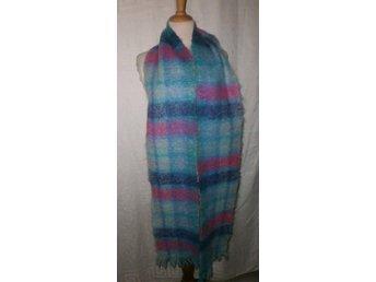halsduk i handvävd mohair,vintage