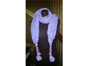 sjal scarf bomull retro