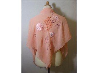 Aprikos sjal med pärlor Skirt tyg