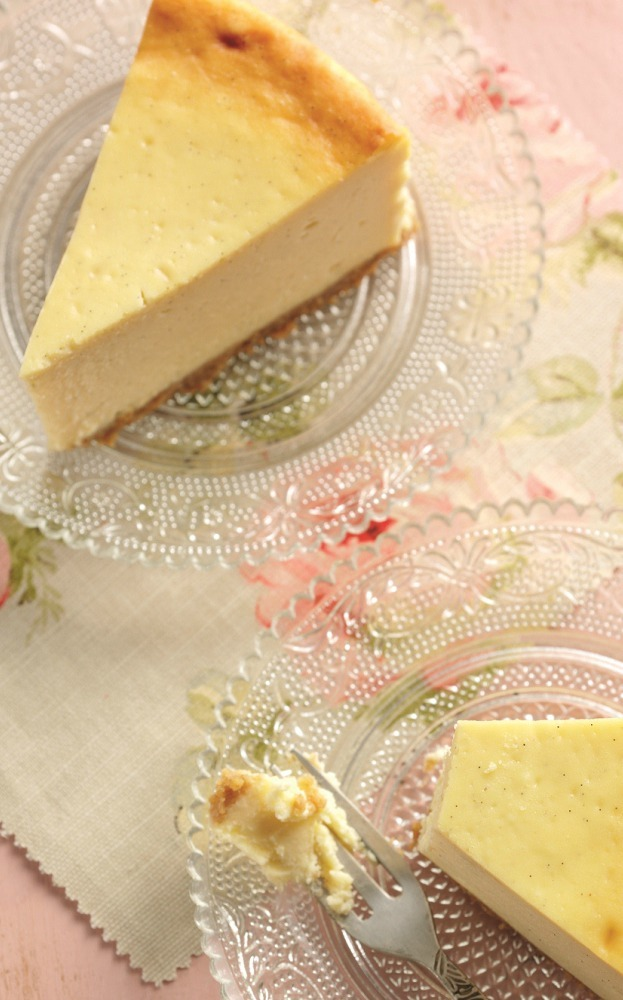 Baked Vanilla Cheese Cake Recipe