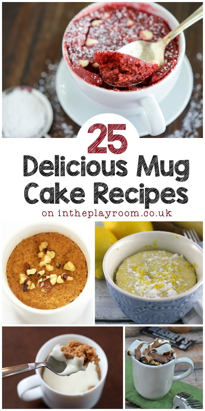 25 Mug Cake Recipes to Try