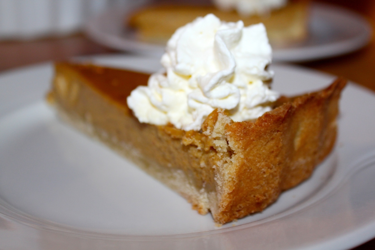 Pumpkin Pie – Happy Thanksgiving!