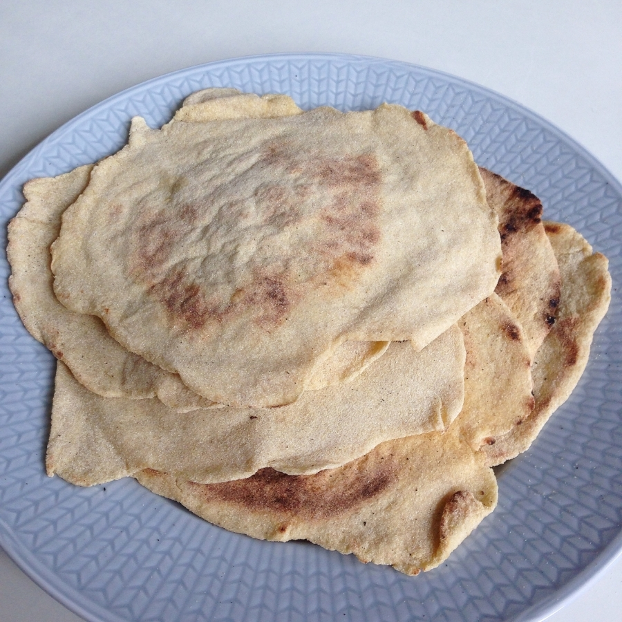 Glutenfria tortillabröd- Recept!