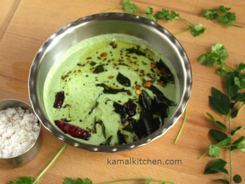 Coconut Chutney for Idli and Dosa – Easy Recipe