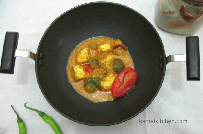 Achari Paneer – Exotic Indian Pickle Sauce Recipe