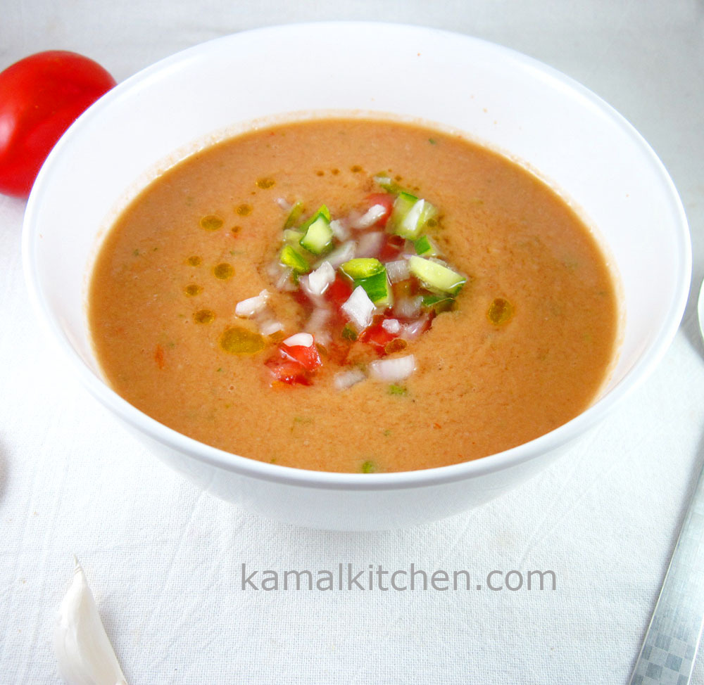 Gazpacho – Cold Spanish Tomato Soup Recipe
