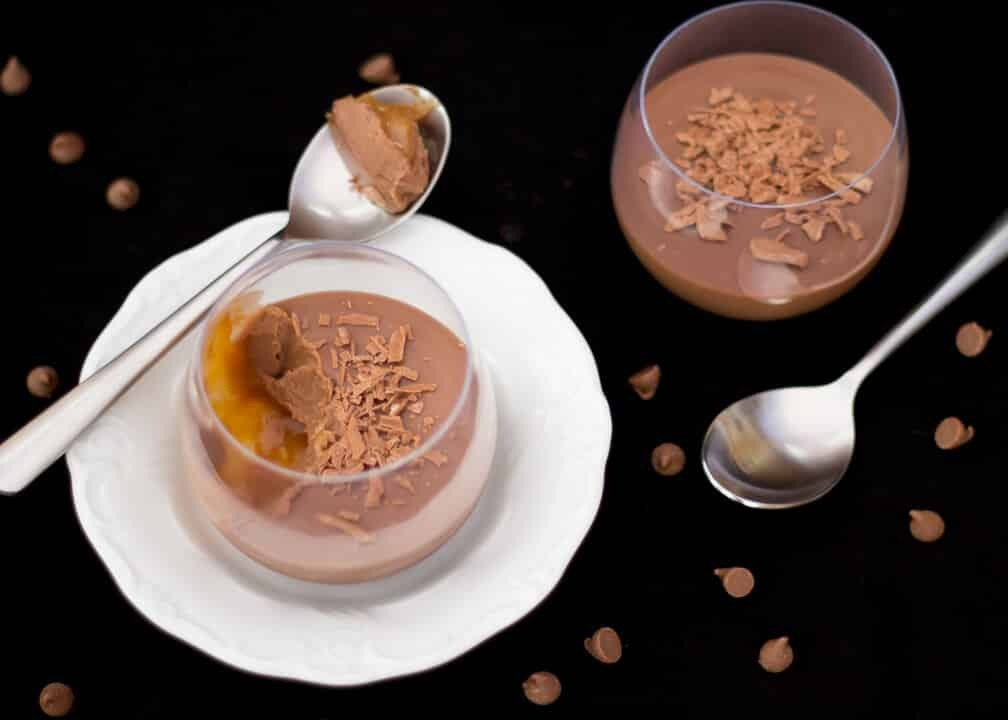 Salted Caramel Chocolate Pots