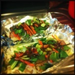 Steamed Vietnamese Fish Parcels