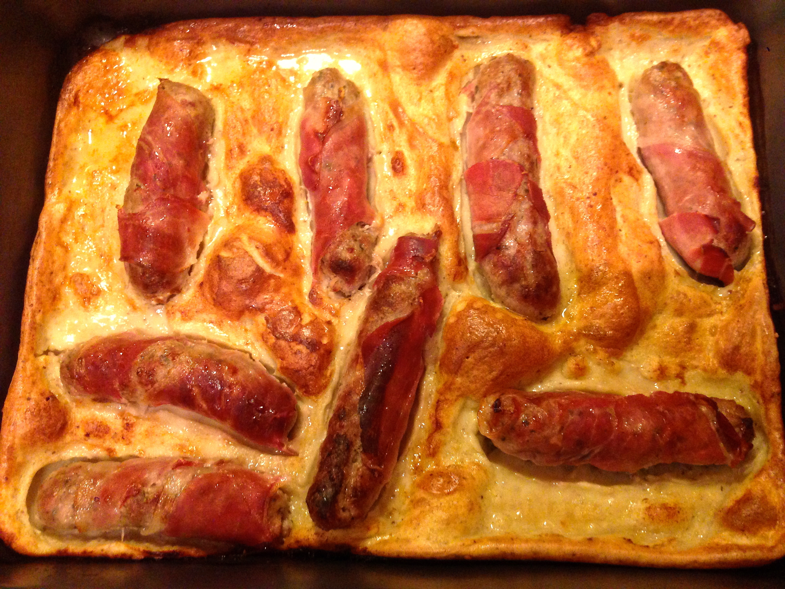 Italian style Toad in the Hole