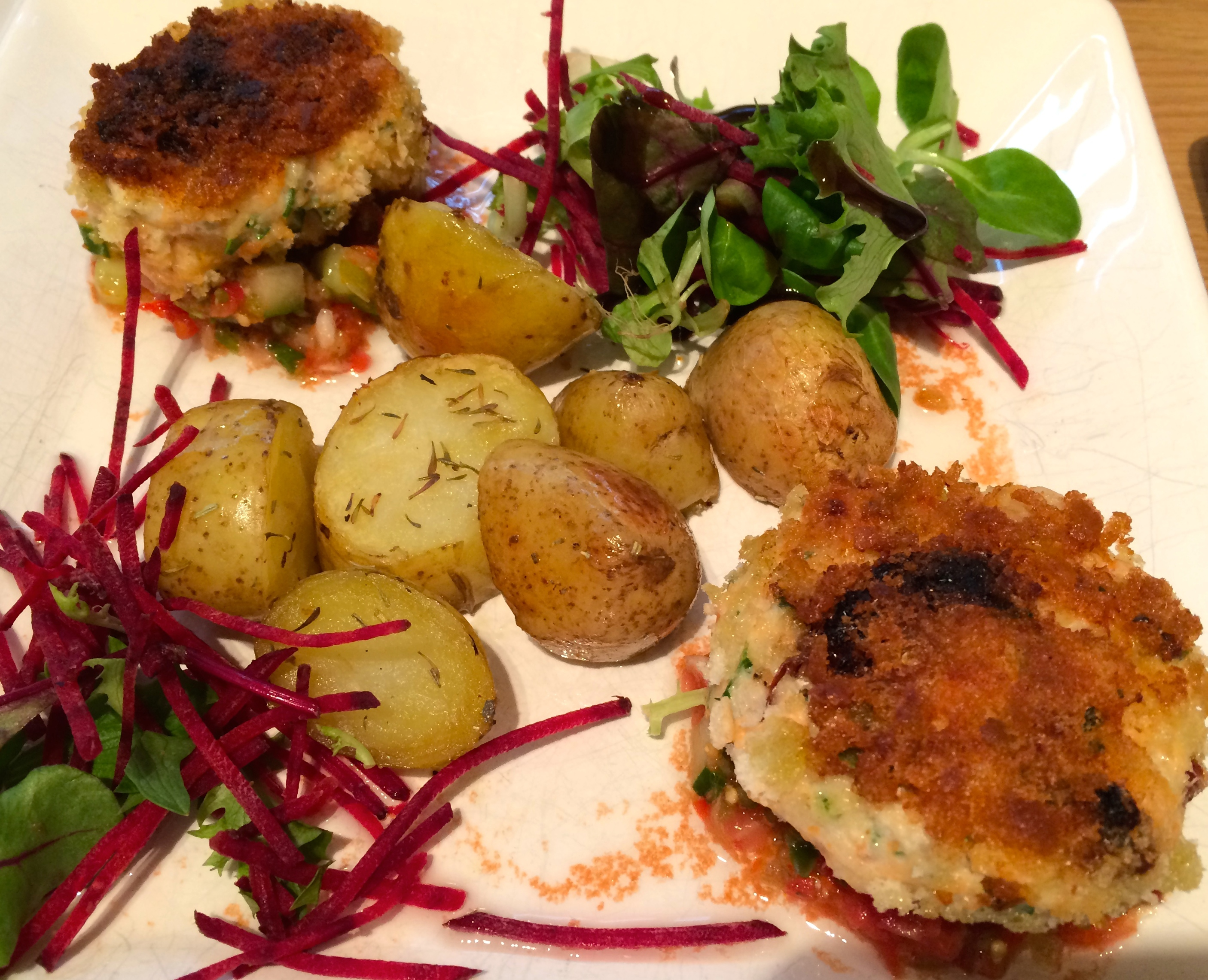 Coriander and Sun Dried Tomato Fish Cakes…