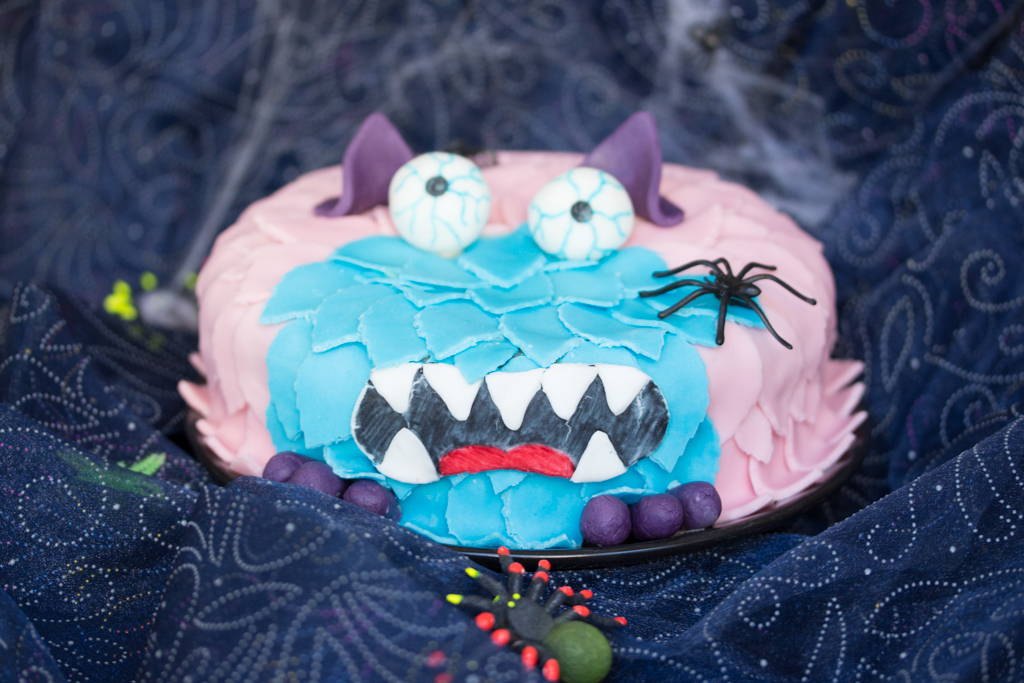 Monster Motivtorte – Fondant zu Halloween