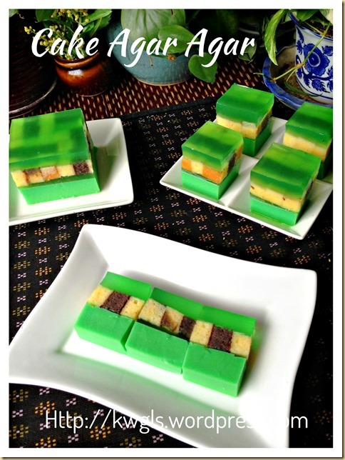 What To Do With You Stale Cake? – Cake Agar Agar (蛋糕燕菜)