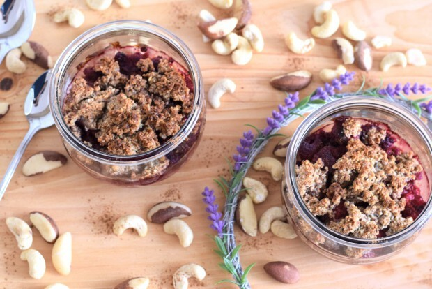 Beeren Low Carb Crumble | Low Carb High Fat
