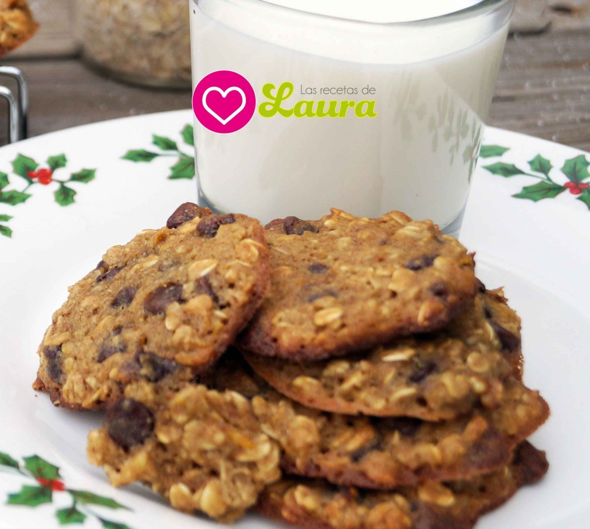 Galletas de Avena Light con chispas de Chocolate