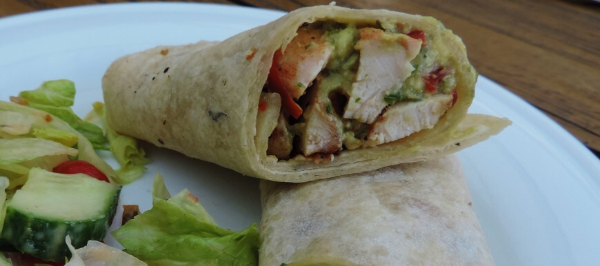 Hot smokey chicken tortilla; Smaakvol en homemade lunchen
