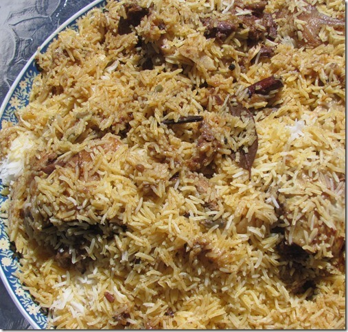 Kabsa (Chicken and Rice)
