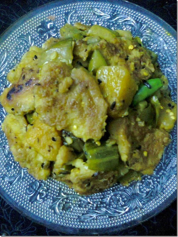 Healthy Veg Curry– Bengali Chapor Ghonto