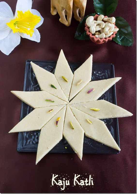 Kaju Katli–Easy Diwali Sweet Recipe