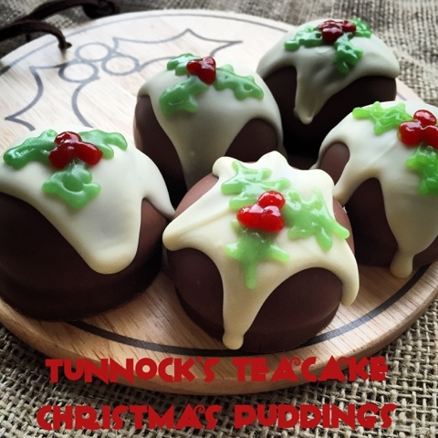 Tunnock's Teacake Christmas Puddings