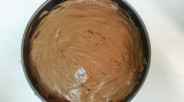 Nutella cheesecake Sin Hornear: