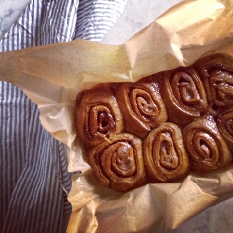 Do you speak English? * Chai-Spiced Cinnamon Rolls by Joy the Baker