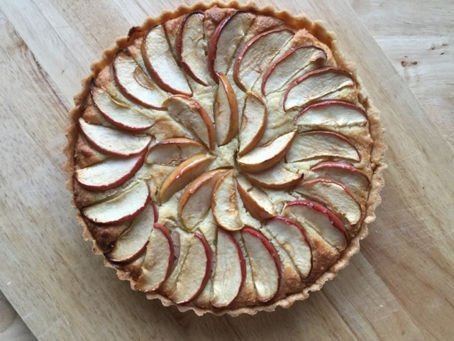 Apple Frangipane Tart with a Cider and Elderflower Syrup - Great Bloggers Bake Off