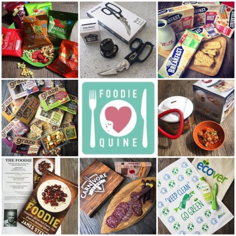 Foodie Parcels in the Post - July 2015 & AnySharp Giveaway