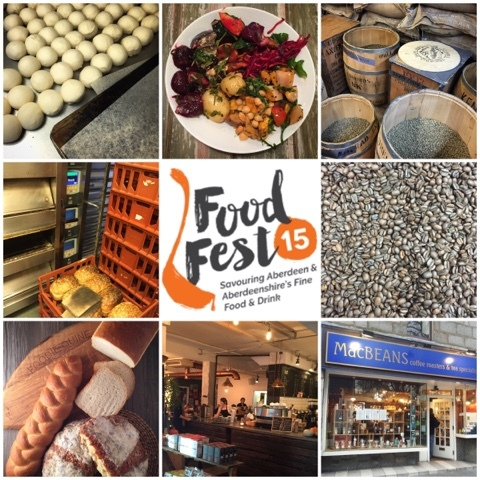The Bread Maker, Food Story & MacBeans. Food Fest 15 Aberdeen