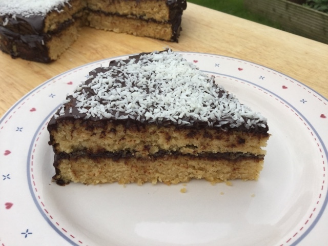 Great Bloggers Bake Off - Free From Week - Coconut Bounty Cake