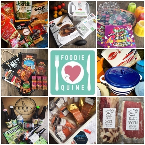 Foodie Parcels in the Post - September 2015