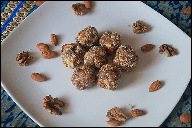 DRY  FRUITS LADOO/DIWALI SWEETS