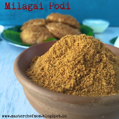 Milagai Podi | Spicy Idli Chutney Powder | How to make Milagai Podi |Glutenfree Vegan Recipe