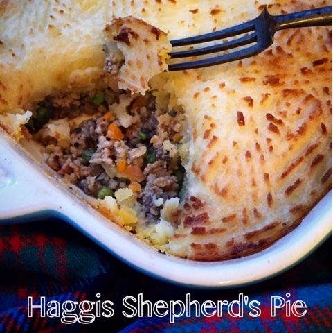 Haggis Shepherd's Pie with Scotch Lamb