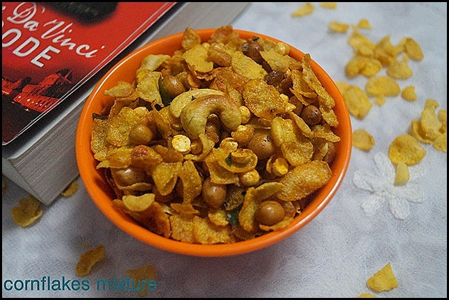 CORNFLAKES MIXTURE/DIWALI SAVOURIES
