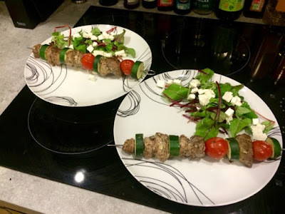 Lamb Kebabs with Mint