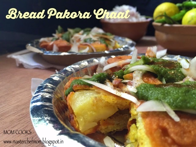 Bread Pakora Chaat - Street Food from Delhi