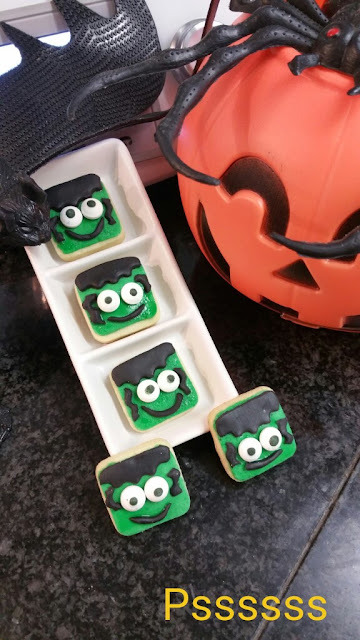 GALLETAS FRANKENSTEIN EN THERMOMIX  ®