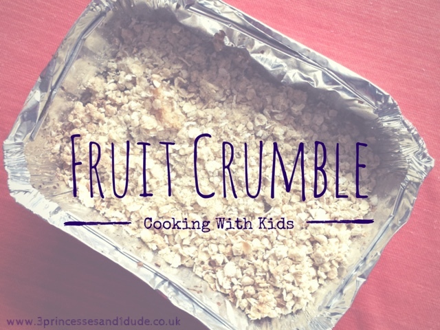 Recipe. Fruit Crumble