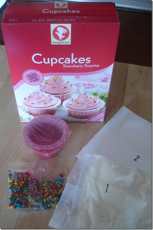 Spott and tell – Kungsörnens cupcakes Strawberry Surprise