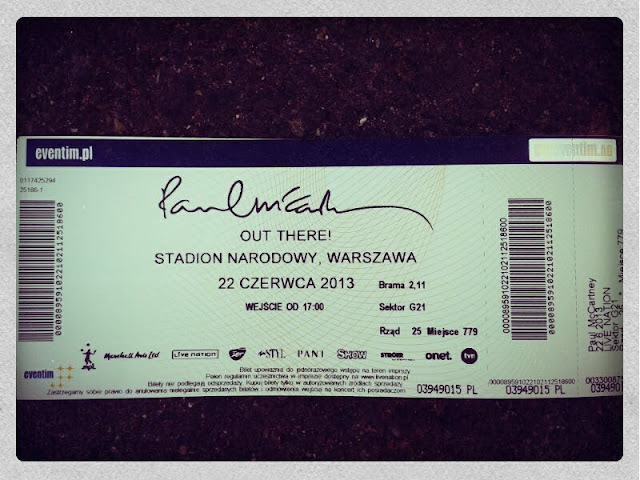 Koncert - Paul McCartney z Red Hat Szkolenia
