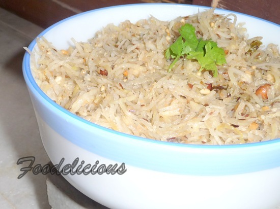 Upavasacha Batatyacha Kees (Grated Potatoes for Fasting)
